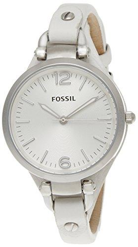 Fossil End of Season Georgia Analog Silver Dial Womens Watch ES2829 0 - Fossil ES2829 End-of-Season Georgia Analog Silver Dial Women watch