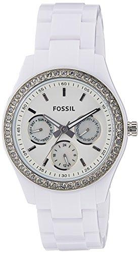Fossil End of Season Stella Analog White Dial Womens Watch ES1967I 0 - Fossil ES1967I End of Season Stella Analog White Dial Women watch