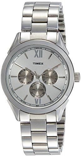 Timex Analog Silver Dial Mens Watch TW000Y913 0 - Timex TW000Y913 Analog Silver Dial Men's watch