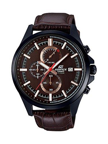 Casio Edifice Analog Brown Dial Mens Watch EFV 520BL 5AVUDF EX349 0 - Casio-EFV-520BL-5AVUDF (EX349) Edifice Analog Brown Dial Men's watch