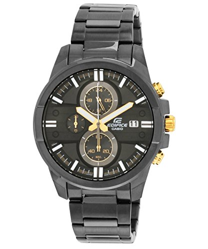 Casio Edifice Chronograph Black Dial Mens Watch EFR 543BK 1A9VUDF EX224 0 - Casio EFR-543BK-1A9VUDF (EX224) Edifice Chronograph Black Dial Men's watch