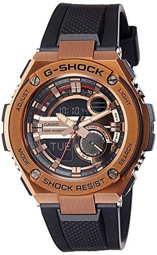 Casio G Shock Analog Digital Brown Dial Mens Watch GST 210B 4ADR G644 0 - Casio GST-210B-4ADR (G644) G-Shock Analog-Digital Brown Dial Men's watch