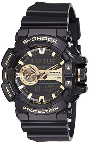 Casio G Shock Analog Digital Gold Dial Mens Watch GA 400GB 1A9DR G651 0 - Casio GA-400GB-1A9DR (G651) G-Shock Analog-Digital Gold Dial Men's watch