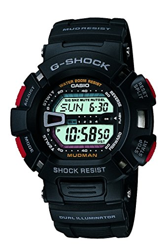 Casio G Shock Digital White Dial Mens Watch G 9000 1VDR G201 0 - Casio G-9000-1VDR (G201) G-Shock Digital White Dial Men's watch