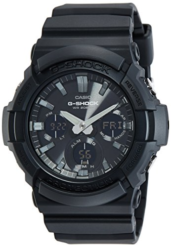 Casio G shock Analog Digital Black Dial Mens Watch GAS 100B 1ADR G772 0 - Casio GAS-100B-1ADR (G772) G-shock Analog-Digital Black Dial Men's watch