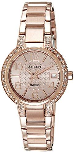 Casio Sheen Analog Rose Gold Dial Womens Watch SHE 4804PG 9AUDR SX130 0 - Casio Sheen SHE-4804PG-9AUDR (SX130) watch