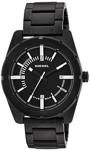 Diesel End of Season Analog Black Dial Mens Watch DZ1596I 0 - Diesel DZ1596I End-of-Season Analog Black Dial Men's watch