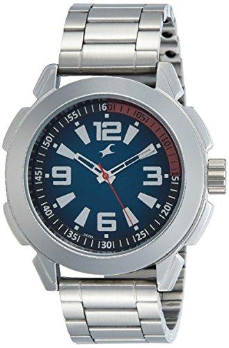 Fastrack Analog Black Dial Mens Watch 3130SM02 0 - Fastrack 3130SM02 Analog Black Dial Men's watch