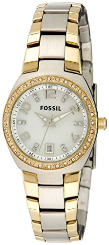 Fossil Analog Mother Of Pearl Dial Womens Watch AM4183 0 - Fossil AM4183 Analog Mother Of Pearl Dial Women watch