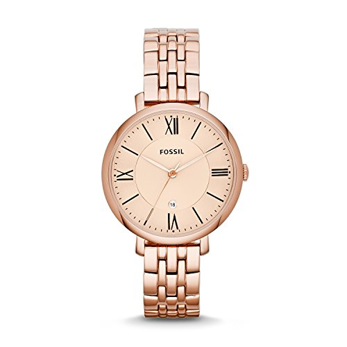 Fossil Analog Rose Gold Dial Womens Watch ES3435 0 - Fossil ES3435 Analog Rose Gold Dial Women watch