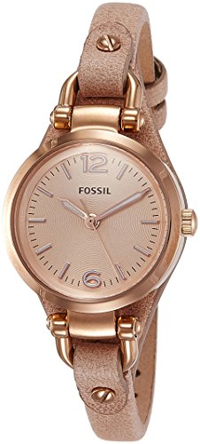 Fossil Georgia Analog Pink Dial Womens Watch ES3262I 0 - Fossil ES3262I Georgia Analog Pink Dial Women watch