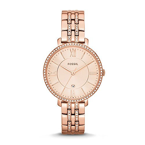 Fossil Jacqueline Analog Pink Dial Womens Watch ES3546 0 - Fossil ES3546 Jacqueline Analog Pink Dial Women watch