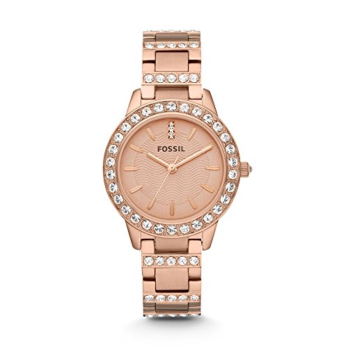 Fossil Jesse Analog Rose Gold Dial Watch ES3020 0 - Fossil ES3020 Jesse Analog Rose Gold Dial watch