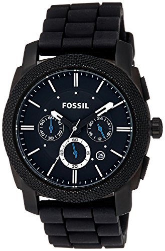 Fossil Machine Chronograph Black Dial Mens Watch FS4487 0 - Fossil FS4487 Machine Chronograph Black Dial Men's watch