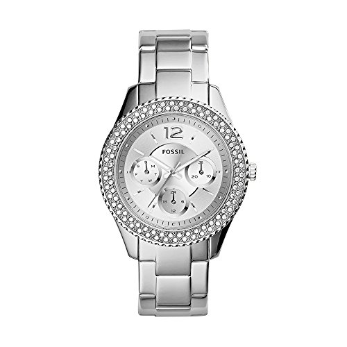 Fossil Stella Analog Silver Dial Womens Watch ES3588 0 - Fossil ES3588 Stella Analog Silver Dial Women watch