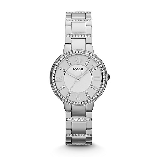Fossil Virginia Analog Silver Dial Womens Watch ES3282 0 - Fossil ES3282 Virginia Analog Silver Dial Women watch