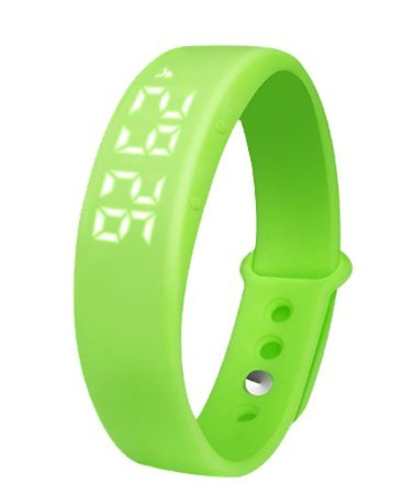 Imported And New Creative Caroie Tracing Monitoring Pedometer Green Watch 0 - Caroie Tracing Monitoring Pedometer Green watch