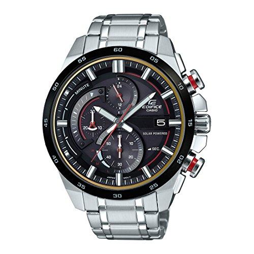 Casio Edifice Analog Black Dial Mens Watch EX378 EQS 600DB 1A4UDF 0 - Casio EX378 (EQS-600DB-1A4UDF) Edifice Analog Black Dial Men's watch