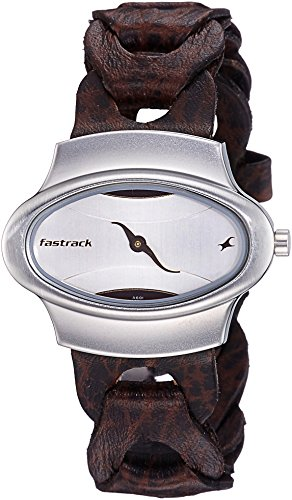 Fastrack Analog Silver Dial Womens Watch 6004SL01 0 - Fastrack 6004SL01 Analog Silver Dial Women watch