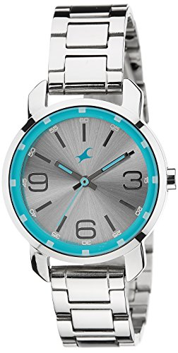 Fastrack Analog Silver Dial Womens Watch 6111SM01 0 - Fastrack 6111SM01 Analog Silver Dial Women watch