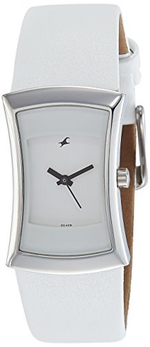 Fastrack Analog White Dial Womens Watch 6093SL01 0 - Fastrack 6093SL01 Analog White Dial Women watch