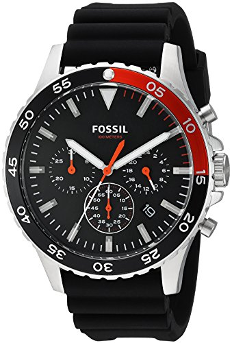 Fossil Analog Black Dial Mens Watch CH3057 0 - Fossil CH3057 Analog Black Dial Men's watch