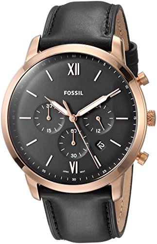 Fossil Analog Black Dial Mens Watch FS5381 0 - Fossil FS5381 Analog Black Dial Men's watch