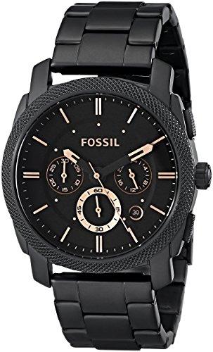Fossil Analog Black Dial Unisex Watch FS4682 0 - Fossil FS4682 Analog Black Dial Unisex watch
