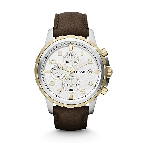 Fossil Analog Silver Dial Mens Watch FS4788 0 - Fossil FS4788 Analog Silver Dial Men's watch
