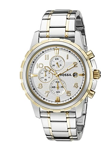 Fossil Analog White Dial Mens Watch FS4795 0 - Fossil FS4795 Analog White Dial Men's watch