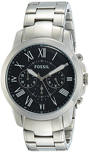 Fossil Chronograph Black Men Watch FS4736 0 - Fossil FS4736 Chronograph Black Men watch