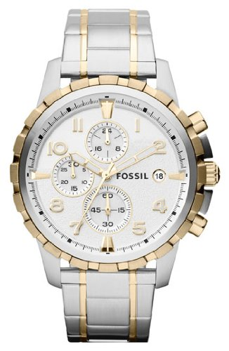 Fossil Chronograph Silver Dial Mens Watch Fs4795 0 - Fossil Fs4795 Chronograph Silver Dial Men's watch