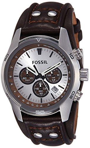 Fossil Coachman Chronograph Silver Dial Mens Watch CH2565I 0 - Fossil CH2565I Coachman Chronograph Silver Dial Men's watch