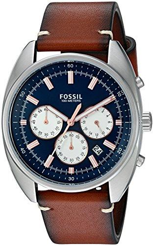 Fossil Drifter Chronograph Blue Dial Mens Watch CH3045 0 - Fossil CH3045 Drifter Chronograph Blue Dial Men's watch