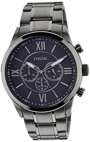 Fossil Other Me Analog Blue Dial Mens Watch BQ1126 0 - Fossil BQ1126 Other - Me Analog Blue Dial Men's watch