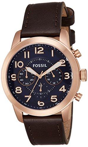 Fossil Pilot 54 Chronograph Blue Dial Mens Watch FS5204I 0 - Fossil FS5204I Pilot 54 Chronograph Blue Dial Men's watch