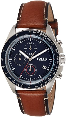 Fossil Sport 54 Chronograph Blue Dial Mens Watch CH3039 0 - Fossil CH3039 Sport 54 Chronograph Blue Dial Men's watch