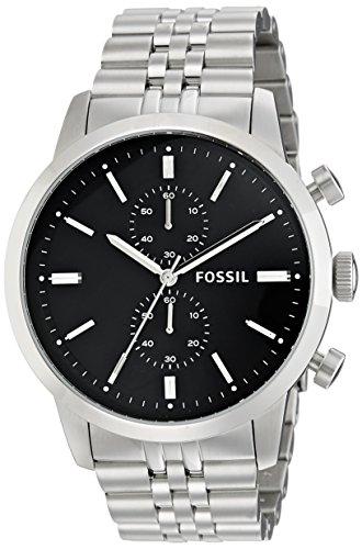 Fossil Townsman Chronograph Analog Black Dial Mens Watch FS4784 0 - Fossil FS4784 watch