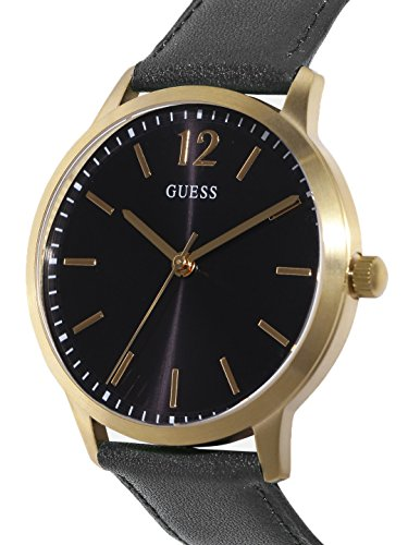 guess w0922g4 black dial exchange mens watch price and