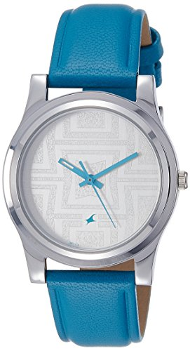 Fastrack Analog Silver Dial Womens Watch 6046SL04 0 - Fastrack 6046SL04 Analog Silver Dial Women watch