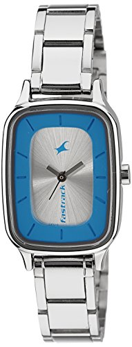 Fastrack Analog Silver Dial Womens Watch 6121SM01 0 - Fastrack 6121SM01 Analog Silver Dial Women watch