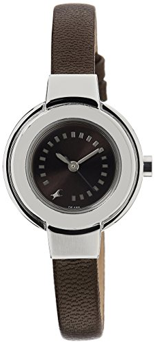 Fastrack Brown Dial Analogue Watch for Girls 6113SL04 0 - Fastrack 6113SL04 Brown Dial Analogue watch