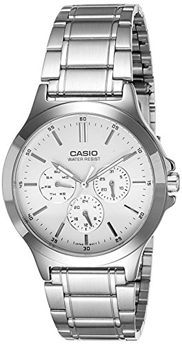 Casio Analog White Dial Mens Watch MTP V300D 7AUDF A1174 0 - Casio MTP-V300D-7AUDF (A1174) Analog White Dial Men's watch