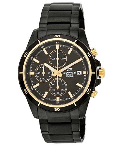Casio Edifice Chronograph Black Dial Mens Watch EFR 526BK 1A9VUDF EX208 0 - Casio EFR-526BK-1A9VUDF (EX208) Edifice Chronograph Black Dial Men's watch