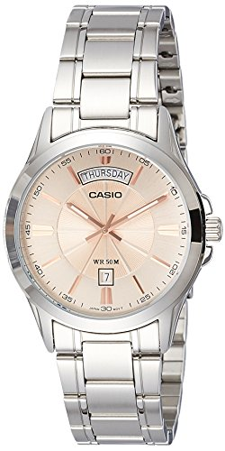 Casio Enticer Analog Rose Gold Dial Mens Watch MTP 1381D 9AVDF A1132 0 - Casio MTP-1381D-9AVDF (A1132) Enticer Analog Rose Gold Dial Men's watch