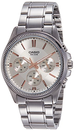 Casio Enticer Analog White Dial Mens Watch MTP 1375D 7A2VDF A1078 0 - Casio MTP-1375D-7A2VDF (A1078) Enticer watch