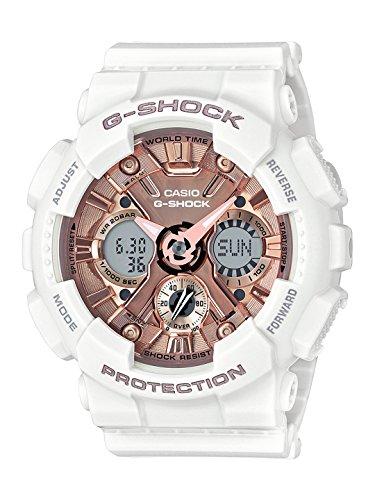 Casio G shock Analog Digital Rose Gold Dial Mens Watch GMA S120MF 7A2DR G734 0 - Casio GMA-S120MF-7A2DR (G734) G-shock watch