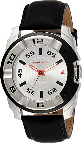 Fastrack Analog Silver Dial Mens Watch 3150KL01 0 0 - Fastrack 3150KL01 Analog Silver Dial Men's watch