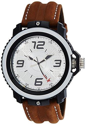 Fastrack Analog Silver Dial Mens Watch NG38017PL02CJ 0 0 - Fastrack NG38017PL02CJ Analog Silver Dial Men's watch