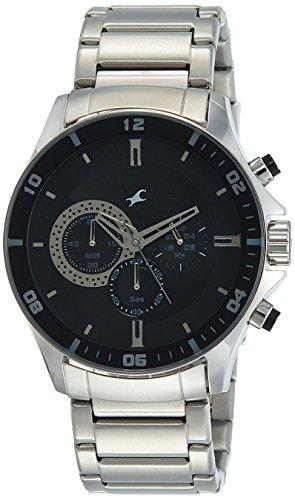 Fastrack Chrono Upgrade Analog Black Dial Mens Watch ND3072SM02 0 0 - Fastrack ND3072SM02 Chrono Black Dial Men's watch